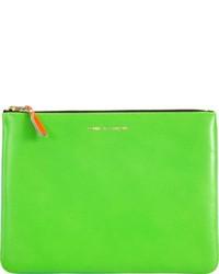 Green Zip Pouch