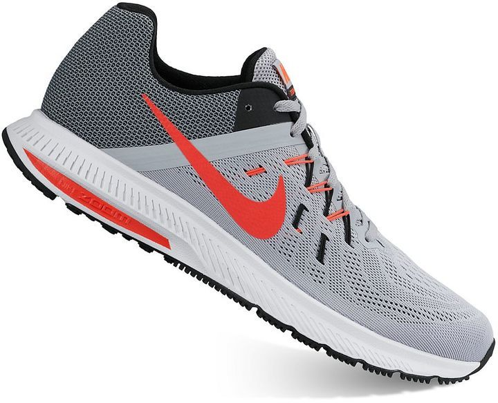 online store c8bd1 c64b8 wholesale grey athletic shoes nike zoom winflo 2 running shoes acbb5 79707