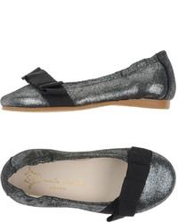 Grey Ballet Flats