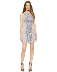 Dsquared2 Feathered Paillette Dress