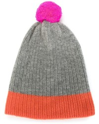 Chinti and Parker Color Block Ribbed Beanie Hat