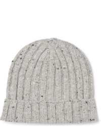 Mlange ribbed wool blend beanie medium 702245