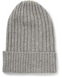 Ribbed cashmere beanie medium 430276