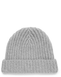 Ribbed cashmere beanie medium 843368