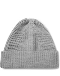 The Workers Club Ribbed Merino Wool Beanie