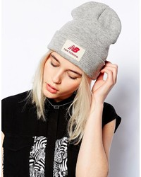 New Balance Troy Beanie In Gray