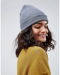 ASOS DESIGN Turn Up Beanie In Recycled Polyester