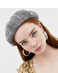 Sacred Hawk Beret In Check