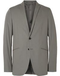 Theory Grey Rodolf Stretch Cotton Blazer