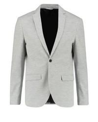 Jack & Jones Jprzander Slim Fit Suit Jacket Light Grey Melange