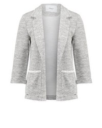 Onlcaroline blazer light grey melange medium 3939849