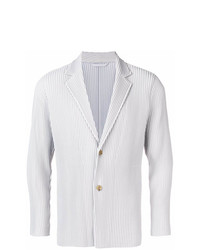 Homme Plissé Issey Miyake Pleated Single Breasted Blazer