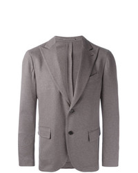 Lardini Single Breasted Blazer Grey
