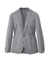 Mango Suit Jacket Light Heather Grey