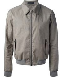 Grey bomber jacket original 3659969