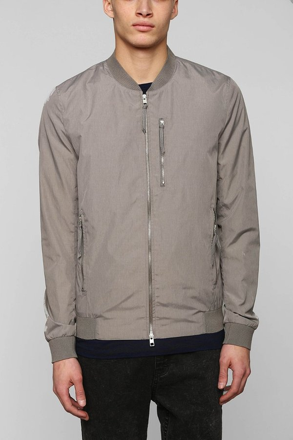 Urban Outfitters Your Neighbors Malone Lightweight Bomber Jacket ...