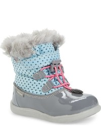See Kai Run Infant Girls Abby Waterproof Boot