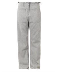 Marquesalmeida Frayed Edge Low Slung Boyfriend Jeans