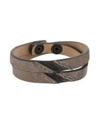 Diesel Bracelet Grey Denim