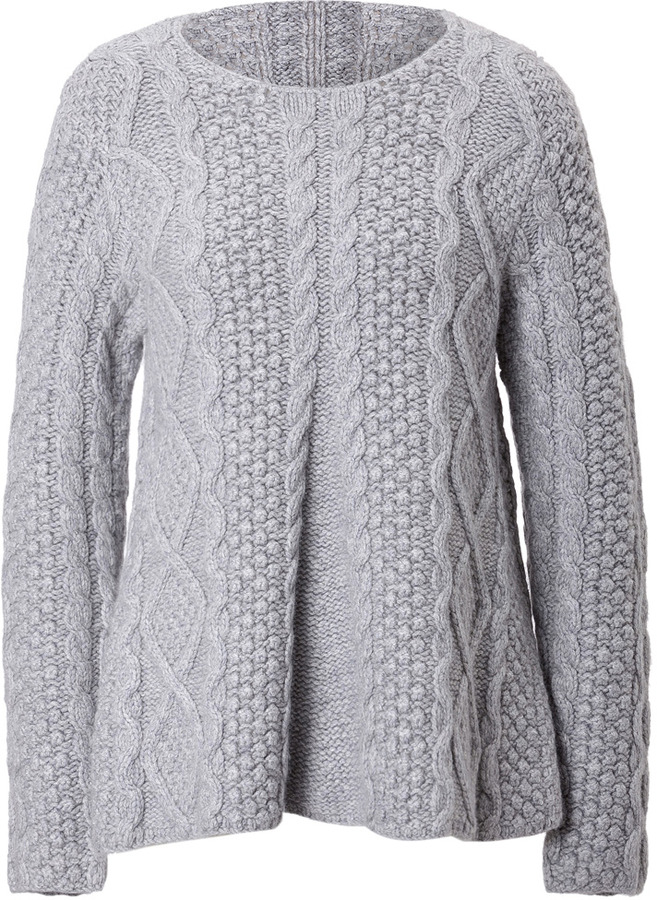 Co Cashmere Cable Knit A Line Pullover | Where to buy & how to wear