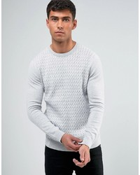 Threadbare Cable Knit Sweater