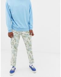 Grey Camouflage Cargo Pants