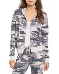 Grey Camouflage Hoodie