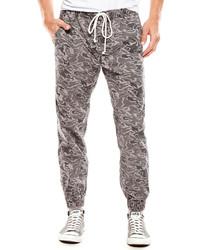 Grey Camouflage Sweatpants