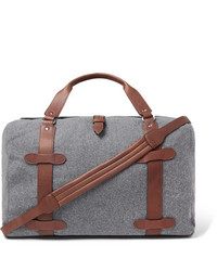 Grey Canvas Holdall