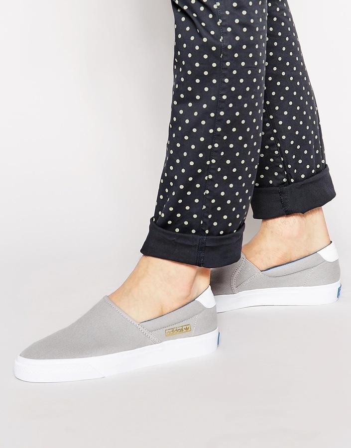 fac23b34791 ... adidas Originals Adi Drill Slip On Sneakers ...