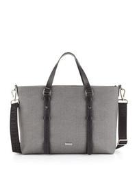 Salvatore Ferragamo New Form Tote Bag Gray