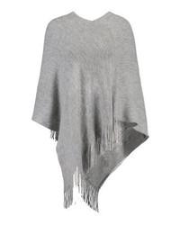 Anna Field Cape Mottled Grey