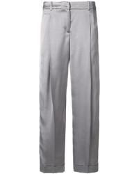 Jil Sander Navy Cropped Trousers