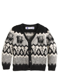 J.Crew Kids Industry Of All Nationstm Hand Knit Alpaca Cardigan Sweater
