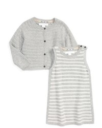 Burberry Lylah Cardigan Sleeveless Dress Set