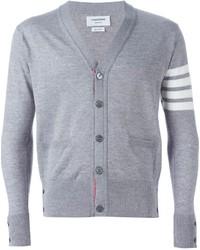 Striped sleeve cardigan medium 287385