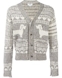 Thom Browne V Neck Cardigan