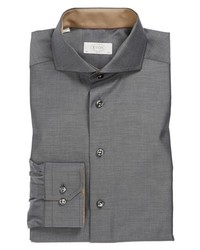 Eton Slim Fit Dress Shirt Grey 15