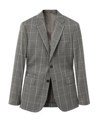 Mango Napoli Suit Jacket Grey