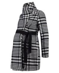 Anna Field Classic Coat Blackwhite