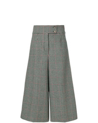 Holland & Holland High Waisted Checked Culottes
