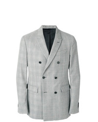 Calvin Klein Double Breasted Fitted Blazer