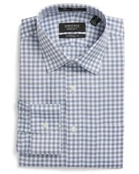 Nordstrom Shop Smartcare Traditional Fit Check Dress Shirt