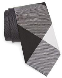 Burberry Clinton Check Silk Cotton Tie