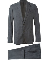 Fine check formal suit medium 1132050