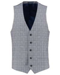 River Island Prince Suit Waistcoat Grey