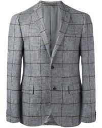 Corneliani Checked Blazer Jacket