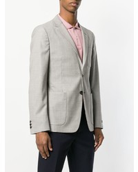 Prada Embroidered Virgin Wool Blazer