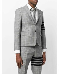Thom Browne Prince Of Wales Check Heavy Wool Sport Coat