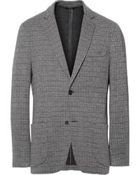 Brioni Unstructured Stretch Silk And Wool Blend Blazer